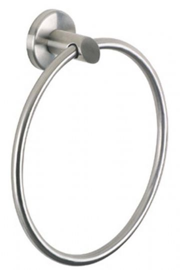 Urban Steel Towel Ring Brushed Steel -PZ07